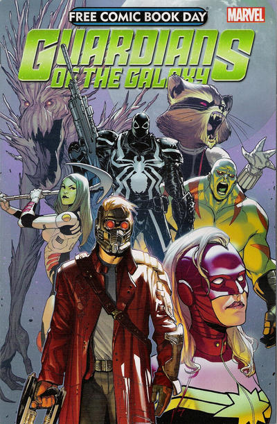 Cover for Free Comic Book Day 2014 (Guardians of the Galaxy) (Marvel, 2014 series) #1