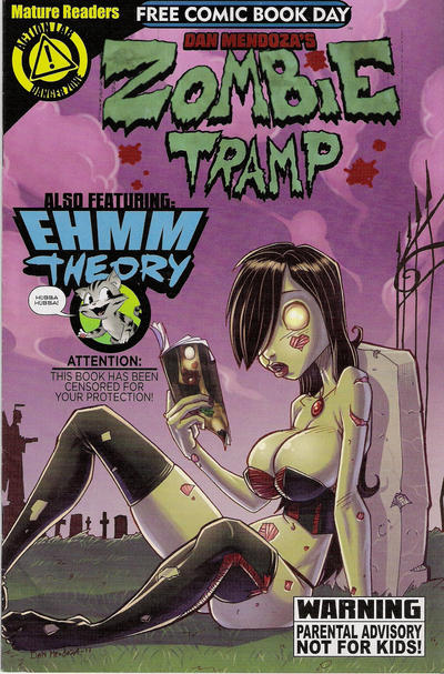 Cover for Zombie Tramp Free Comic Book Day Edition (Action Lab Comics, 2014 series)