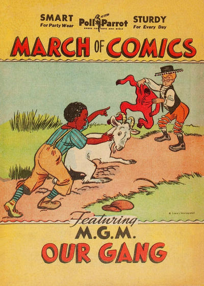 Cover for March of Comics (Western, 1946 series) #[3]