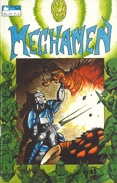 Cover for Mechamen Graphic Novel (Antarctic Press, 1990 series) #[nn]