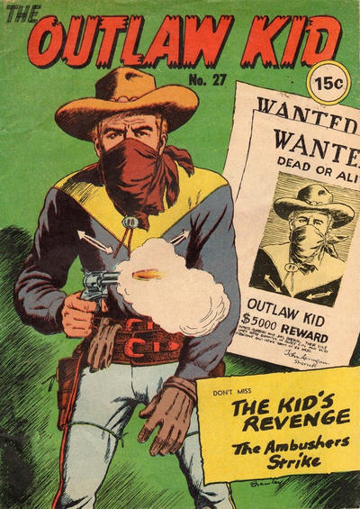 Cover for The Outlaw Kid (Yaffa / Page, 1970 ? series) #27