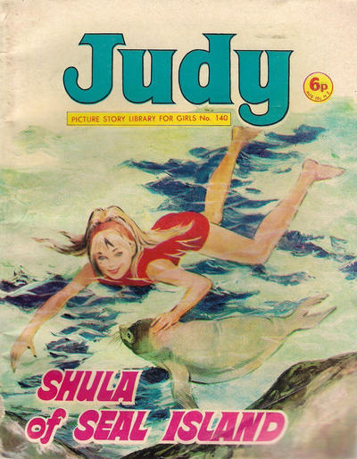 Cover for Judy Picture Story Library for Girls (D.C. Thomson, 1963 series) #140
