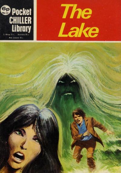 Cover for Pocket Chiller Library (Thorpe & Porter, 1971 series) #33