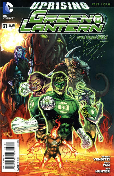 Cover for Green Lantern (DC, 2011 series) #31
