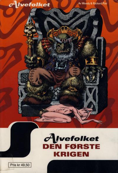 Cover for Alvefolket (Hjemmet / Egmont, 2005 series) #13