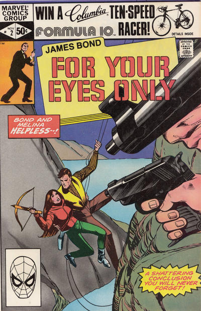 Cover for James Bond For Your Eyes Only (Marvel, 1981 series) #2 [Direct]