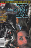 Cover for The X-Files (Topps, 1995 series) #21 [Newsstand]