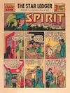 Cover for The Spirit (Register and Tribune Syndicate, 1940 series) #6/2/1940 [The Star Ledger Newark NJ]