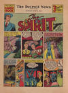Cover for The Spirit (Register and Tribune Syndicate, 1940 series) #6/9/1940 [The Detroit News]