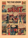 Cover for The Spirit (Register and Tribune Syndicate, 1940 series) #6/9/1940 [The Star Ledger [Newark, New Jersey]]
