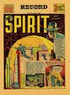 Cover Thumbnail for The Spirit (1940 series) #7/21/1940 [Philadelphia Record edition]