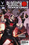 Cover for Bloodshot and H.A.R.D.Corps (Valiant Entertainment, 2013 series) #20 [Cover B - Pullbox Edition - Jorge Molina]