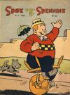 Cover for Spøk og Spenning (Oddvar Larsen; Odvar Lamer, 1950 series) #9/1950