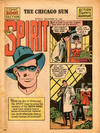 Cover for The Spirit (Register and Tribune Syndicate, 1940 series) #12/31/1944 [Actual dated cover]