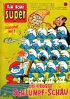 Cover for Fix und Foxi Super (Gevacur, 1967 series) #35 - Die Schlümpfe: Die große Schlumpf-Schau