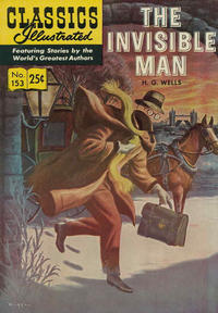 Cover Thumbnail for Classics Illustrated (Gilberton, 1947 series) #153 [HRN 169] - The Invisible Man