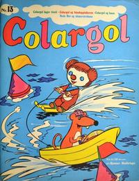 Cover Thumbnail for Colargol (Hjemmet / Egmont, 1976 series) #13