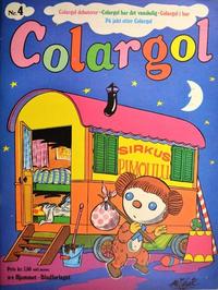 Cover Thumbnail for Colargol (Hjemmet / Egmont, 1976 series) #4
