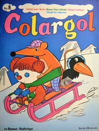 Cover Thumbnail for Colargol (Hjemmet / Egmont, 1976 series) #8