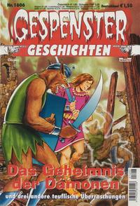 Cover Thumbnail for Gespenster Geschichten (Bastei Verlag, 1974 series) #1606