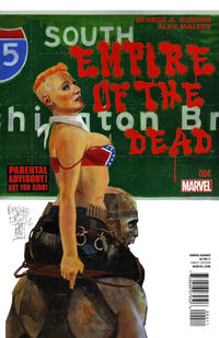 Cover Thumbnail for George Romero's Empire of the Dead (Marvel, 2014 series) #4 [Alex Maleev Cover]