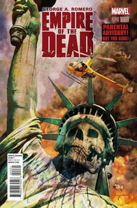 Cover Thumbnail for George Romero's Empire of the Dead (Marvel, 2014 series) #4 [Arthur Suydam NYC Variant]