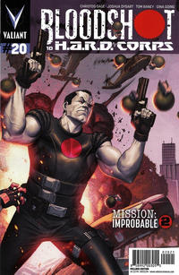 Cover Thumbnail for Bloodshot and H.A.R.D.Corps (Valiant Entertainment, 2013 series) #20 [Cover B - Pullbox Edition - Jorge Molina]