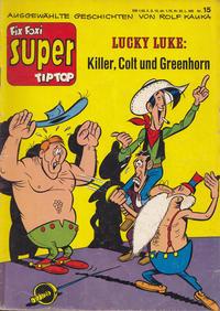 Cover Thumbnail for Fix und Foxi Super (Gevacur, 1967 series) #15 - Lucky Luke: Killer, Colt und Greenhorn