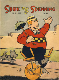 Cover Thumbnail for Spøk og Spenning (Oddvar Larsen; Odvar Lamer, 1950 series) #9/1950
