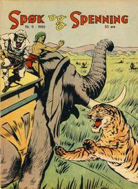 Cover Thumbnail for Spøk og Spenning (Oddvar Larsen; Odvar Lamer, 1950 series) #11/1950