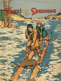 Cover Thumbnail for Spøk og Spenning (Oddvar Larsen; Odvar Lamer, 1950 series) #18/1952