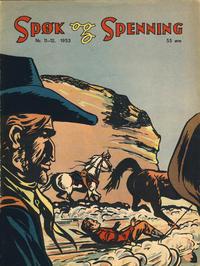 Cover Thumbnail for Spøk og Spenning (Oddvar Larsen; Odvar Lamer, 1950 series) #11-12/1953