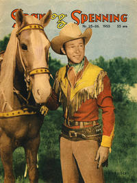 Cover Thumbnail for Spøk og Spenning (Oddvar Larsen; Odvar Lamer, 1950 series) #25-26/1953