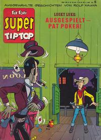 Cover Thumbnail for Fix und Foxi Super (Gevacur, 1967 series) #5 - Lucky Luke: Ausgespielt - Pat Poker!