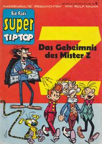 Cover Thumbnail for Fix und Foxi Super (Gevacur, 1967 series) #9 - Das Geheimnis des Mister Z