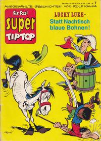 Cover Thumbnail for Fix und Foxi Super (Gevacur, 1967 series) #7 - Lucky Luke: Statt Nachtisch blaue Bohnen!