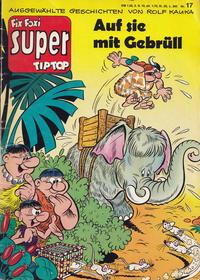 Cover Thumbnail for Fix und Foxi Super (Gevacur, 1967 series) #17 - Die Pichelsteiner: Auf sie mit Gebrüll
