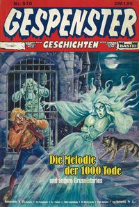Cover Thumbnail for Gespenster Geschichten (Bastei Verlag, 1974 series) #510