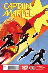 Cover Thumbnail for Captain Marvel (Marvel, 2014 series) #3