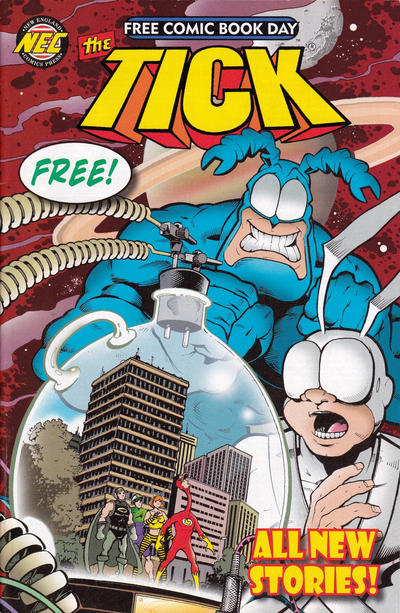 Cover for The Tick: Free Comic Book Day (New England Comics, 2011 series) #2014