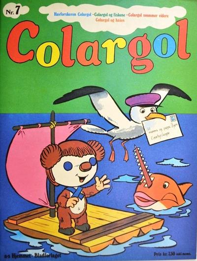 Cover for Colargol (Hjemmet / Egmont, 1976 series) #7