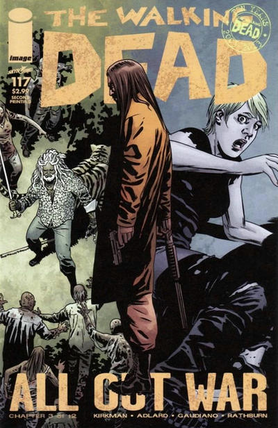 Cover for The Walking Dead (Image, 2003 series) #117
