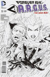 Cover for Forever Evil: A.R.G.U.S. (DC, 2013 series) #5 [Jeremy Roberts Black & White Cover]