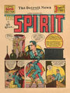 Cover for The Spirit (Register and Tribune Syndicate, 1940 series) #8/11/1940 [Detroit News edition]