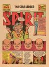 Cover for The Spirit (Register and Tribune Syndicate, 1940 series) #8/18/1940 [Newark NJ Star Ledger edition]