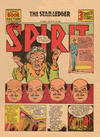 Cover for The Spirit (Register and Tribune Syndicate, 1940 series) #8/18/1940 [Newark NJ Star Ledger edition]