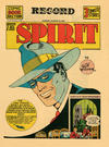 Cover for The Spirit (Register and Tribune Syndicate, 1940 series) #8/25/1940 [Philadelphia Record edition]