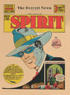 Cover for The Spirit (Register and Tribune Syndicate, 1940 series) #8/25/1940 [Detroit News edition]