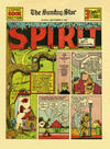 Cover for The Spirit (Register and Tribune Syndicate, 1940 series) #9/29/1940 [Washington DC Star edition]