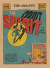 Cover for The Spirit (Register and Tribune Syndicate, 1940 series) #9/22/1940 [Baltimore Sun edition]